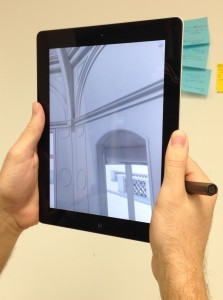 iVisit 3D Model on an iPad (2)
